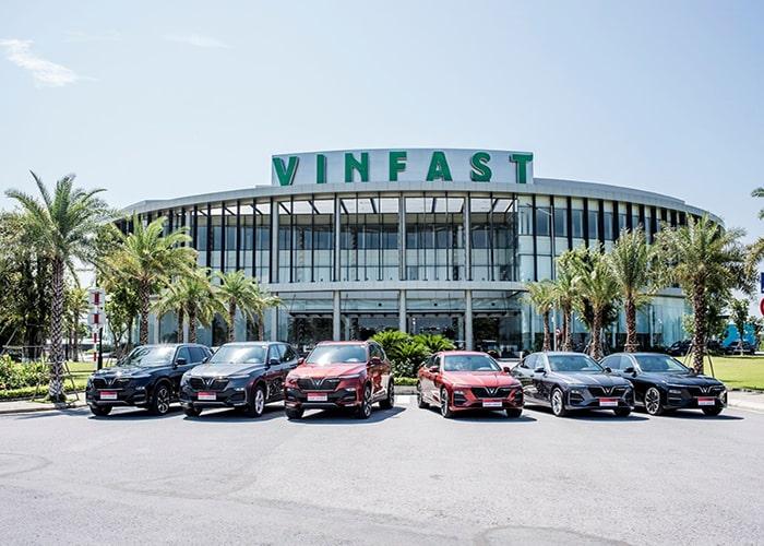 danh sách các ông lớn tham gia vào sản phẩm Vinfast
