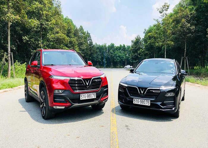 so sánh Vinfast Lux SA2.0 và Ford Explorer
