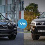 So Sánh Vinfast Lux SA2.0 Và Toyota Fortuner - Cuộc chiến không hồi kết