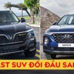 So Sánh Vinfast Lux SA2.0 Và Hyundai Santafe - Mua dòng nào?
