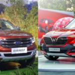 So Sánh Vinfast Lux SA2.0 Và Ford Everest - Dòng nào tốt hơn?