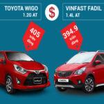 Bật mí điểm khác biệt khi so sánh VinFast Fadil và Toyota Wigo