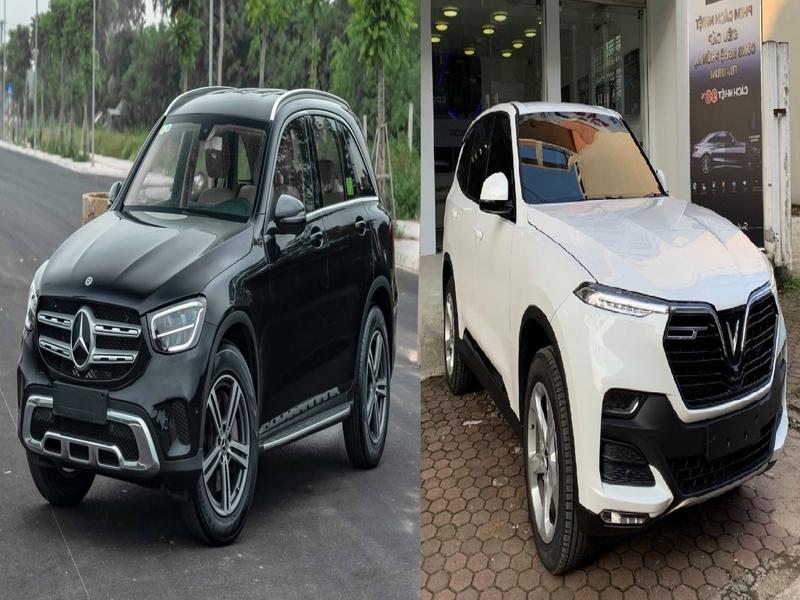 Thiết kế bên ngoài của Vinfast Lux a2.0 và Mercedes c200