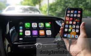 kết nối apple carplay trên dòng xe fadil