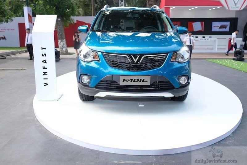 Dòng xe Vinfast Fadil có nhiều màu sắc cho khách hàng lựa chọn
