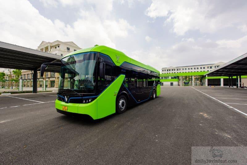 Dòng xe Bus chạy bằng điện của Vingroup đang khá được quan tâm