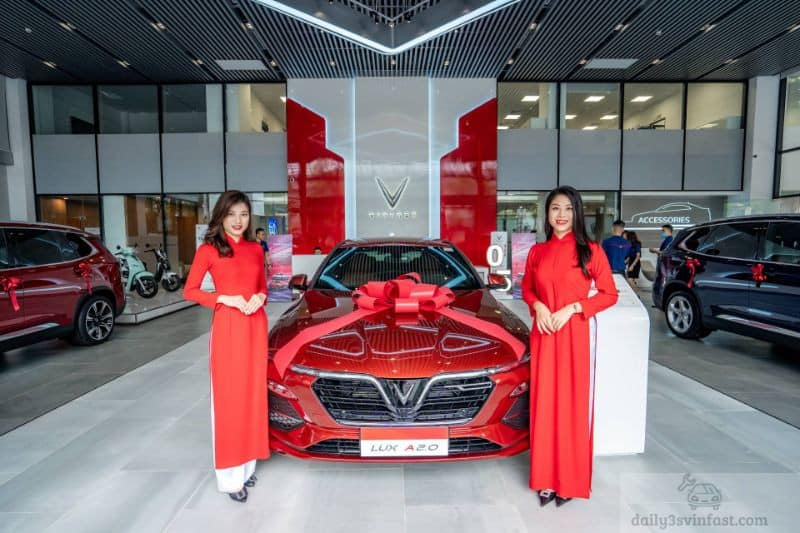 Mua xe Vinfast tại các showroom Hà Nội