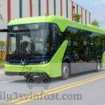 Khám phá xe bus điện Vinfast - Mẫu xe chạy 100% bằng điện tại Việt Nam