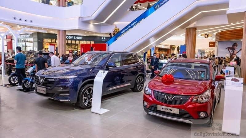 Thời điểm ra mắt giúp khách hàng tham quan và trải nghiệm dòng xe