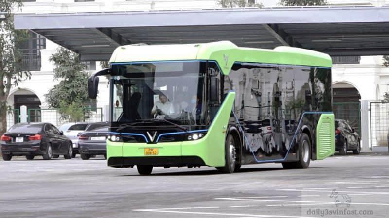 Tính năng an toàn được ưu tiên hàng đầu cho dòng xe bus điện Vinfast