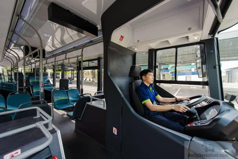 Vingroup nổi tiếng trong việc thiết kế, trang trí nội thất và tiện ích dòng xe bus điện