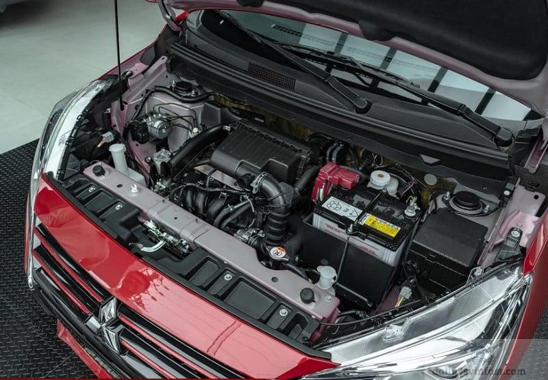 Động cơ Mitsubishi Attrage mạnh mẽ