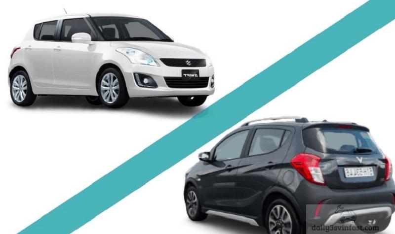 so sánh Vinfast Fadil và Suzuki Swift