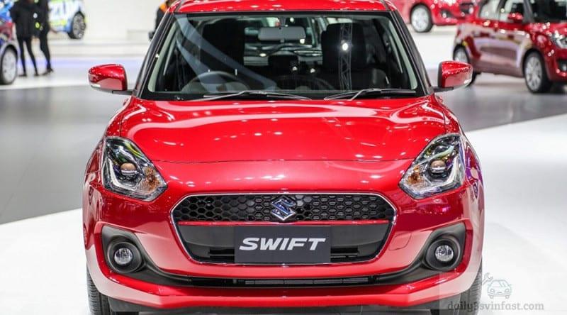 Suzuki Swift có kích thước nhỉnh hơn Vinfast Fadil và giá bán cũng cao hơn