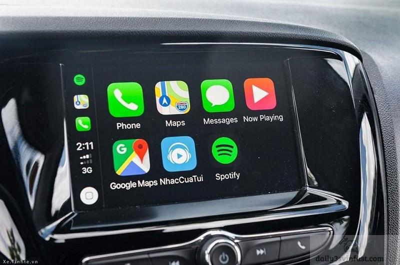 apple carplay trên các phiên bản VinFast Fadil
