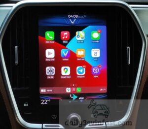 các xe VinFast Lux A2.0 và Lux SA2.0 xuất xưởng từ tháng 8/2021 sẽ được tích hợp sẵn kết nối Apple CarPlay.