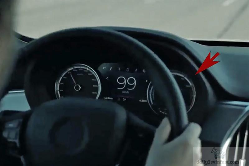 Đồng hồ đo tốc độ trên xe chạy điện có cách hiển thị khác một chút so với bản máy xăng