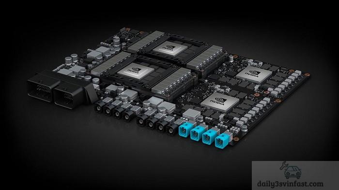 Công nghệ chip Nvidia trên ô tô điện VinFast