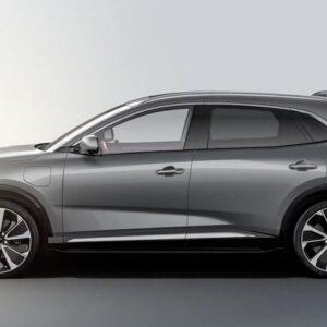 Kích thước của VF e35 với chiều dài 4.750 mm, trục cơ sở dài 2.950 mm, xếp vào phân khúc SUV hạng D, tương đương các mẫu xe sang như Mercedes-Benz GLC, BMW X3 hay Audi Q5.