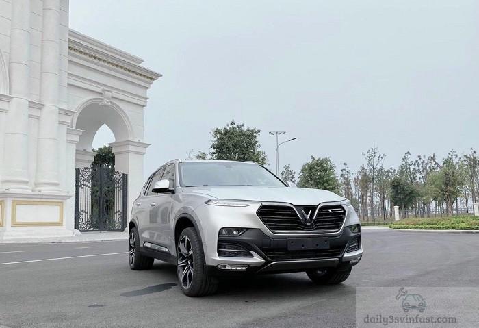 Xe VinFast Lux SA2.0 Bạc