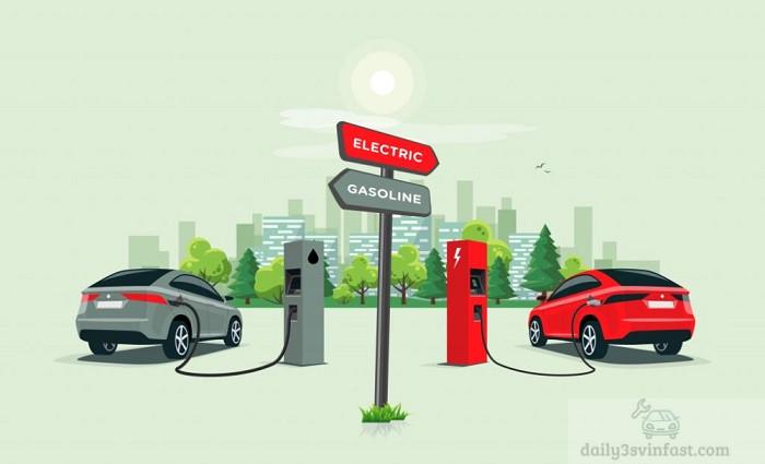 Sử dụng năng lượng điện sẽ tiết kiệm hơn so với xăng dầu