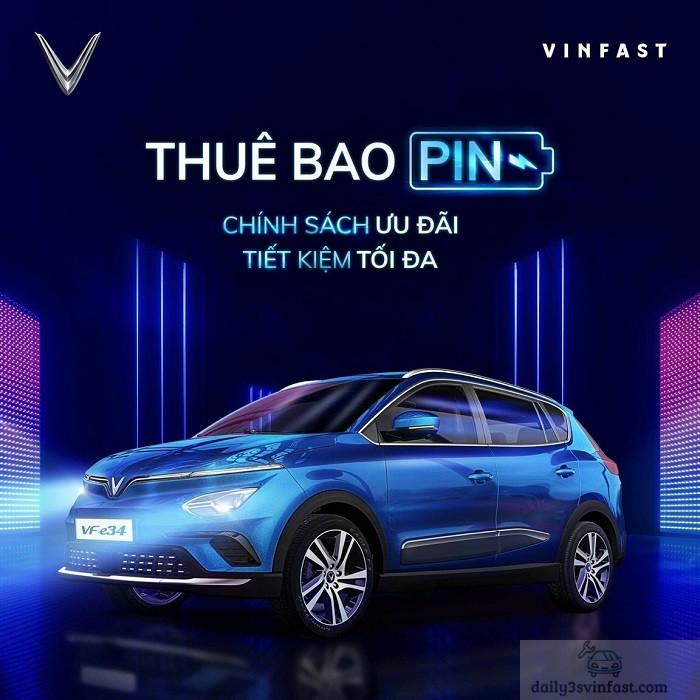 VinFast dành tặng khách hàng nhiều ưu đãi khi đặt cọc xe ô tô điện VinFast VF e34