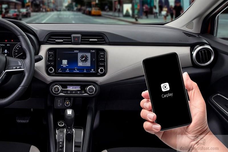 Đánh giá nội thất Nissan Almera