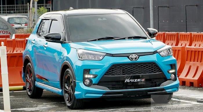 Toyota Raize 2022 sắp ra mắt tại Việt Nam