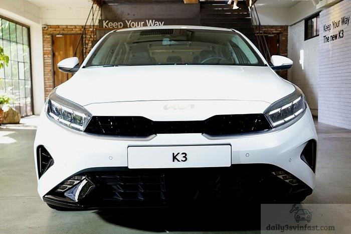 Phần đầu xe Kia Cerato 2022