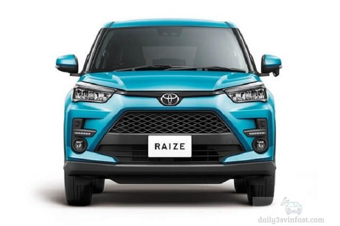 Phần đầu xe Toyota Raize 2022