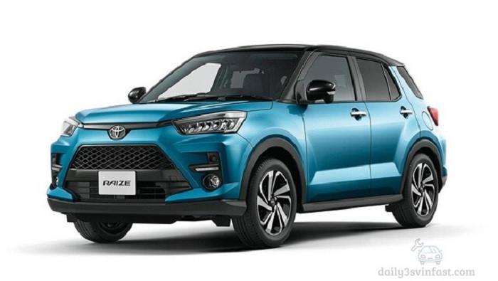 Tổng thể xe Toyota Raize 2022