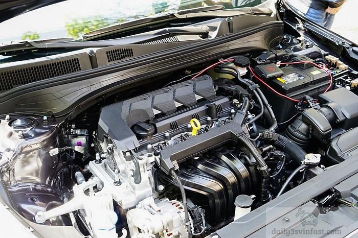 Động cơ 1.6L trên xe Kia Cerato 2022