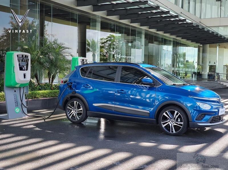 Hình ảnh thực tế ô tô điện Vinfast Vfe34 mới được công bố.