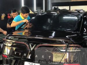 Film cách nhiệt phụ kiện không thể thiếu trên xe ô tô VinFast