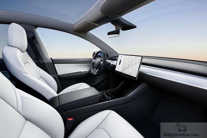 Nội thất Tesla Model Y