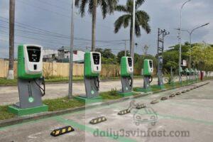 trạm sạc ô tô điện VinFast