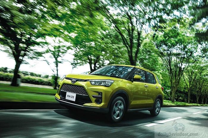 Toyota Raize 2022 với nhiều trang bị an toàn hiện đại bậc nhất