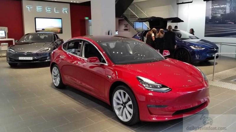 xe ô tô điện Tesla của Mỹ