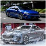 """Kia K5 và VinFast Lux A2.0: Xe Hàn rẻ, nhiều """"option"""", cạnh tranh cùng xe Việt"""