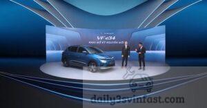 VF e34 là cái tên đầu tiên được trình làng trong dải sản phẩm ôtô điện của VinFast